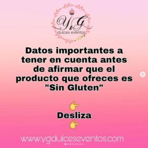 Datos importantes sin gluten